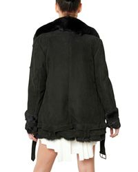 Hakaan | Black Shearling Fur Coat | Lyst