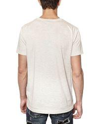 John Richmond - White David Bowie Jersey T-shirt for Men - Lyst
