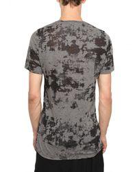 Julius - Gray Opaled Cotton Jersey T-shirt for Men - Lyst