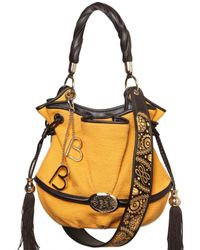 Lancel | Yellow Bridget Bardo Cotton Tweed Shoulder Bag | Lyst