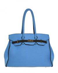 Leghilà | Blue B-bag Large Neoprene Top Handle | Lyst