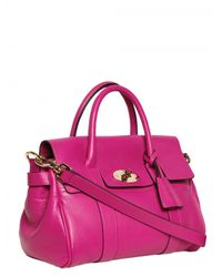 Mulberry | Purple Small Bayswater Satchel Top Handle | Lyst