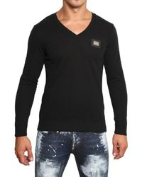 Philipp Plein | Black Swarovski Skull Cotton Knit Sweater for Men | Lyst