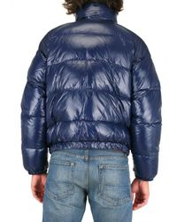 Pyrenex - Blue Mythic Quilted Nylon Down Jacket for Men - Lyst