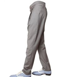 Vivienne Westwood | Gray 19cm Cool Wool Low Crotch Trousers for Men | Lyst