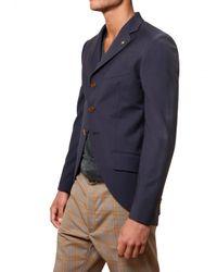 Vivienne Westwood - Blue Cool Wool Skull Pin Jacket for Men - Lyst