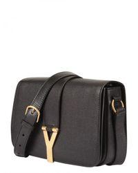 Saint Laurent - Black Chyc Long Strap Shoulder Bag - Lyst