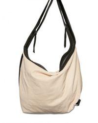 Ann Demeulemeester | Natural Soft Leather Shoulder Bag | Lyst