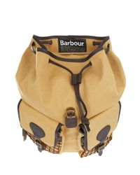 Barbour - Brown Beacon Backpack for Men - Lyst