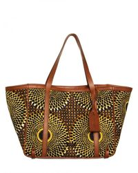 Burberry | Multicolor Havenmore Canvas Medium Tote | Lyst