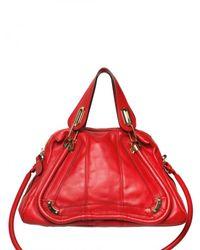 Chloé - Red Paraty Medium Top Handle - Lyst