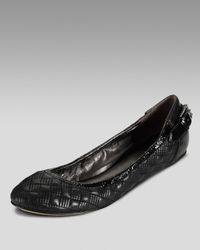 Cole Haan | Black Air Eliza Quilted Ballerina Flat | Lyst