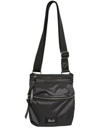 Dolce & Gabbana | Black Nylon Flat Shoulder Bag for Men | Lyst