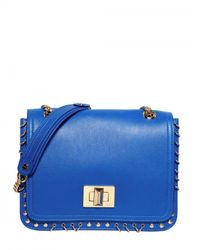 Emilio Pucci | Blue Marquise Nappa Solid Shoulder Bag | Lyst