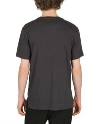 Lanvin | Blue Pigeon Print Embroidered Jersey T-shirt for Men | Lyst
