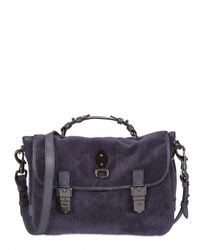 Mulberry | Gray Tillie Corduroy Satchel | Lyst