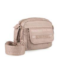 Sonia Rykiel - Pink Besace Embellished Acetate Shoulder Bag - Lyst