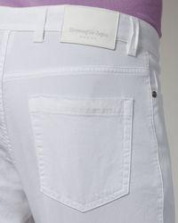 Ermenegildo Zegna | Slim White Jeans for Men | Lyst