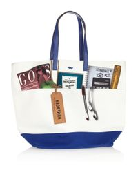 Anya Hindmarch | Multicolor Homework Printed Canvas Tote | Lyst