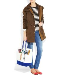 Anya Hindmarch - Multicolor Homework Printed Canvas Tote - Lyst