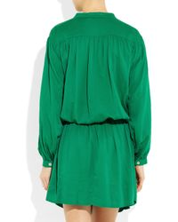Étoile Isabel Marant - Green Iban Dress - Lyst