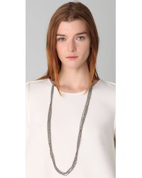 Chan Luu | Black Cotton Seed Bead Necklace | Lyst