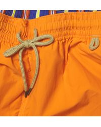 Polo Ralph Lauren | Orange Drawstring Swim Shorts for Men | Lyst