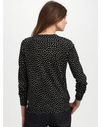 A.P.C. | Black Dotted Cardigan | Lyst