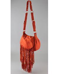 CC SKYE - Orange Leight Luxe Fringe Bag - Lyst
