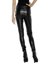 Sachin & Babi - Black Faux Leather Zucko Pants - Lyst