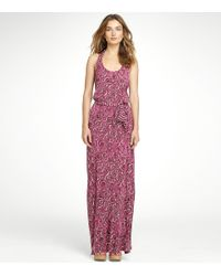 Tory Burch | Pink Jersey Maxi Dress | Lyst