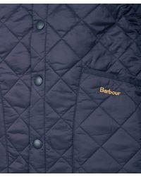 Barbour - Blue Heritage Fit Liddesdale Jacket for Men - Lyst