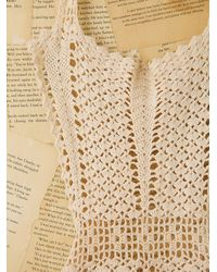 Free People - Natural Vintage Crochet Apron - Lyst
