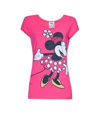 Mango   Pink Mickey Mouse T-shirt   Lyst