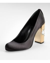 Tory Burch | Black Ciara High Heel Pump | Lyst