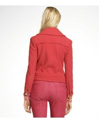 Tory Burch | Red Magdalena Jacket | Lyst