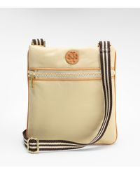 Tory Burch - Natural Nylon Logo Swingpack - Lyst