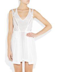 Camilla & Marc   White Supremacy Chiffon Dress   Lyst