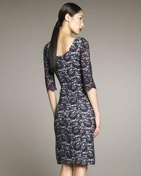 Erdem   Blue Cecile Lace Dress   Lyst