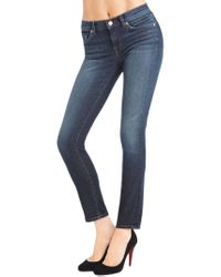 J Brand | Blue 811 Mid-rise Skinny Leg | Lyst