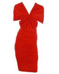 Lanvin | Red Dress | Lyst