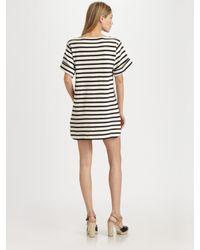 By Malene Birger - Black Nagat Striped Dress - Lyst