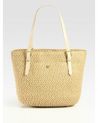 Eric Javits | Natural Squishee Jav Woven Tote | Lyst