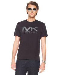Michael Kors | Black Sleek Mk Shirt for Men | Lyst