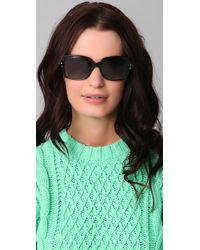 Oliver Peoples Black Helaine Polarized Sunglasses