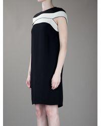 Stella McCartney | Black Stripe Dress | Lyst