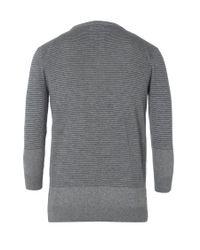 AllSaints - Gray Anton Grandad for Men - Lyst