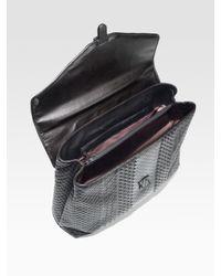 Bottega Veneta | Black Leather Briefcase for Men | Lyst