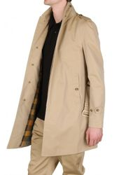 Burberry Prorsum - Natural Shower Proof Cotton Trench Coat for Men - Lyst