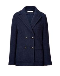 Cacharel | Blue Double-Breasted Jacket | Lyst
